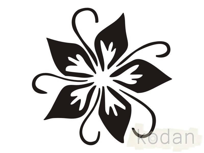 Своими руками наклейку на цветы
