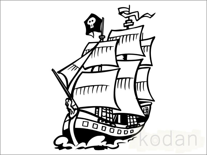 Трафареты для пиратской вечеринки своими руками